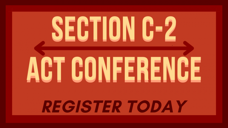 ACT Conference – February 27th