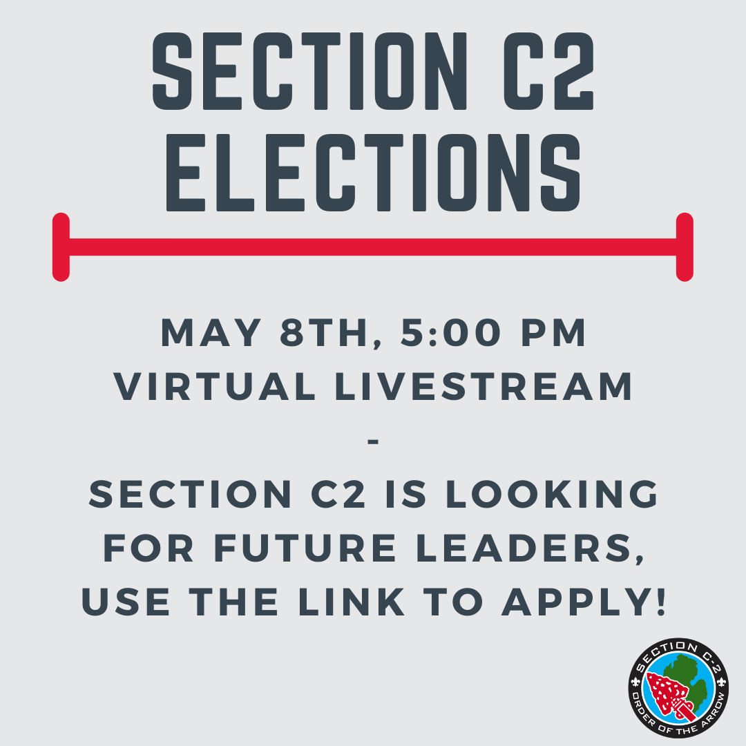 Section C2 Elections – May 8th